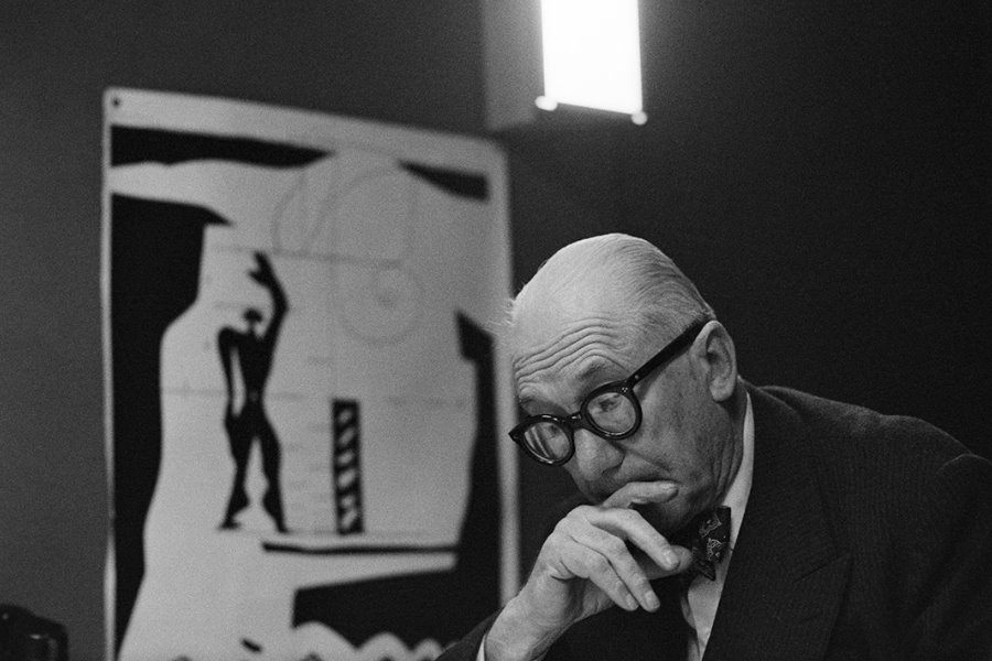 Le Corbusier – gesehen von René Burri